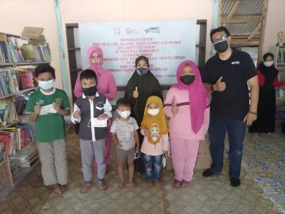 MNC Peduli Bersama Bhayangkari Boyolali Bantu Peralatan Taman Baca untuk Anak-Anak