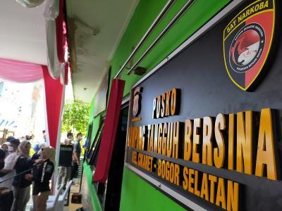 Kota Bogor Kini Punya Kampung Tangguh Anti Narkoba