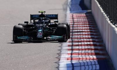 Hasil Latihan Bebas 2 F1 GP Rusia 2021: Bottas Masih Tak Terbendung, Hamilton Mengekor, Verstappen Terpental dari 5 Besar