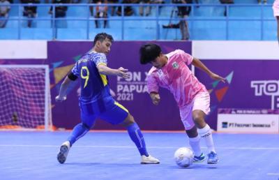 Tim Futsal Jawa Barat Bungkam Banten di PON XX Papua, Pelatih Soroti Permainan di Babak Kedua