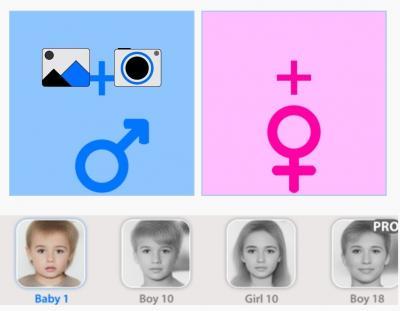 Keren, Aplikasi Ini Bisa Mendeteksi Wajah Anak di Masa Depan