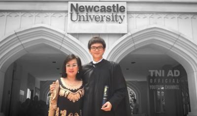 Kisah Jason Antoni, Pemuda Tionghoa Lulusan S2 Inggris yang Menjadi Perwira TNI AD
