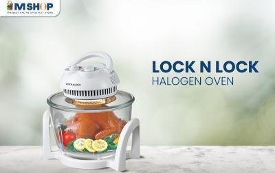 Masakan Lebih Lezat dan Sehat dengan Lock N Lock Halogen Oven dari eMShop