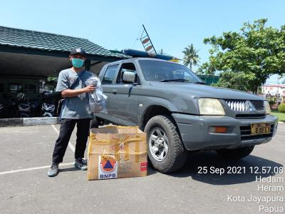 Mobil Masker, Strategi BNPB untuk Perkuat Prokes di Gelaran PON XX Papua