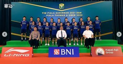 Jadwal Tim Indonesia di Fase Grup Piala Sudirman 2021