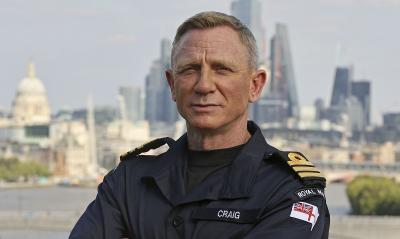Daniel Craig Raih Pangkat Kehormatan Angkatan Laut, Setara Milik James Bond