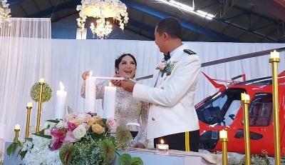 Joy Tobing Resmi Menikah dengan Kolonel Cahyo Permono