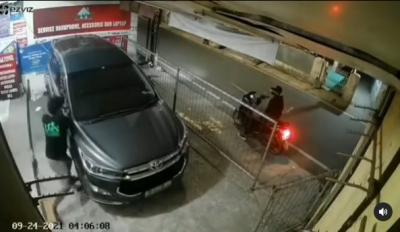 Viral Pencurian Spion Mobil di Mampang, Polisi Buru Pelaku