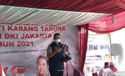 Anies Sebut Terkendalinya Covid-19 di Jakarta bak Film Avengers