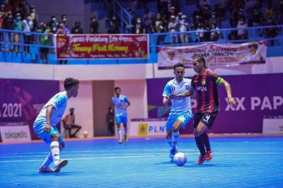 Tim Futsal Papua dan Jawa Barat Raih Kemenangan di Hari Kedua Futsal PON XX Papua