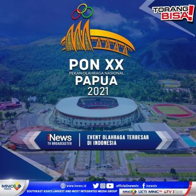Perhelatan Olahraga Terbesar di Indonesia, PON XX Telah Dimulai, Saksikan Keseruannya Mulai dari Sepakbola hingga Pencak Silat, Hanya di iNews