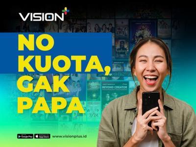 Nonton Video on Demand di Vision+ Tak Perlu Kuota, Begini Caranya!
