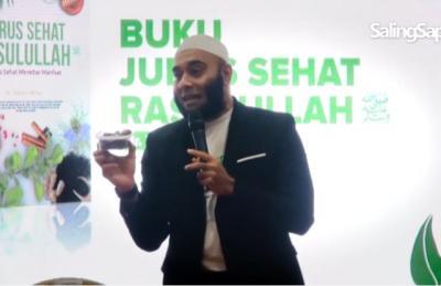 Mengenal Ustadz dr Zaidul Akbar, Ahli Gizi Sekaligus Pencetus Jurus Sehat Rasulullah