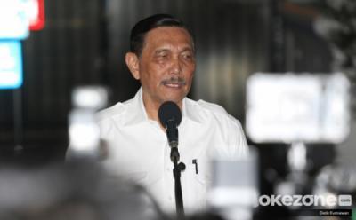 Luhut Sebut Kasus Konfirmasi Positif Covid-19 di Jawa-Bali Turun 98%