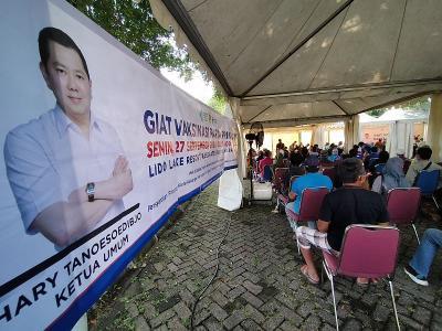Warga Bogor Sambut Baik Vaksinasi Covid-19 Partai Perindo