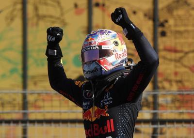 Finis Kedua di F1 GP Rusia 2021 meski Mulai dari Posisi Ke-20, Max Verstappen Tertolong Cuaca