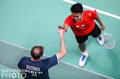 Sumbang Poin Pertama untuk Indonesia, Anthony Ginting Sudah Yakin Bisa Atasi Ivan Sozonov