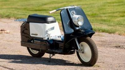 Motor Skuter Satu-satunya yang Pernah Diproduksi Harley-Davidson  Segera Dilelang