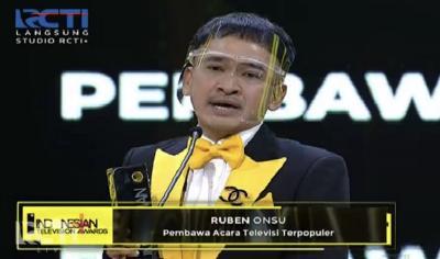 Ruben Onsu Menang ITA 2021: Terima Kasih Ivan Gunawan