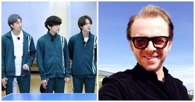 Ngefans, Simon Pegg Ungkap Keinginan Main Bareng Jin BTS di Squid Game Season 2