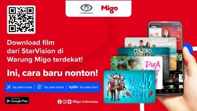Gandeng StarVision, Migo Jalin Kerja Sama Jangka Panjang Tayangkan Film-Film Ternama Indonesia