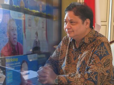Menko Airlangga: Penyebaran Covid-19 di Indonesia Makin Terkendali