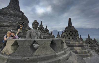 Pengunjung Borobudur Masih Landai sejak Dibuka, 2 Hal Ini Pemicunya