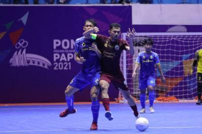 Papua dan Jawa Barat Lolos ke Semifinal Futsal PON XX Papua