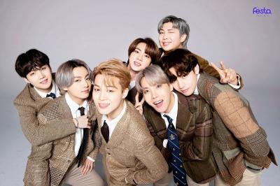 BTS Borong 5 Trofi dari The Fact Music Awards 2021