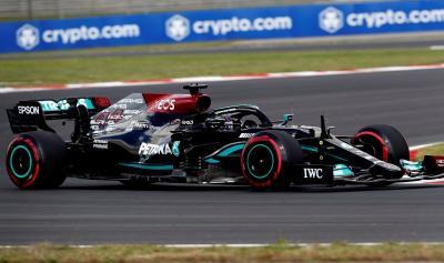 Hasil Latihan Bebas 1 F1 GP Turki 2021: Lewis Hamilton Unggul Sepersekian Detik dari Max Verstappen