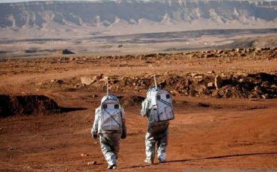 Ilmuwan Lakukan Pelatihan Kehidupan di Mars di Kawah Ramon Israel