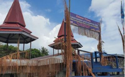 Melihat dari Dekat Kampung Asei, Markas Perajin Kriya Kulit Kayu Papua