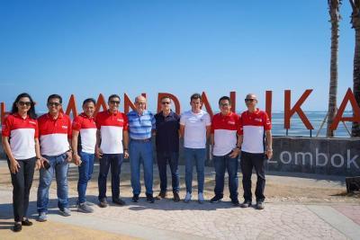 Masuk Kalender MotoGP 2022, Dorna Sports Akui Terpukau dengan Keindahan Pemandangan di Sirkuit Mandalika