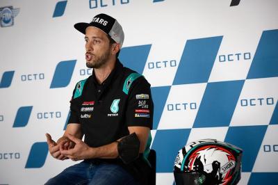Tak Incar Hasil Wah di MotoGP 2021, Andrea Dovizioso Punya Alasan Tersendiri