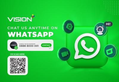 Mau Tanya-Tanya tentang Vision+? Langsung Saja Chat ke ke Nomor WhatsApp Ini!