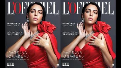 Georgina Rodriguez Menawan di Cover Majalah Mode, Netizen: Meuni Geulis Mojang Spanyol!