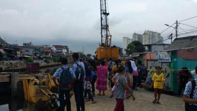 Tragis! 5 Kasus Crane Jatuh di Indonesia, Nomor 5 Paling Heboh