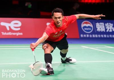 Hasil Perempatfinal Piala Thomas 2020: Jonatan Christie Menang, Indonesia Lolos ke Semifinal!