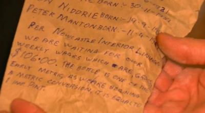 Pria Temukan Pesan dalam Botol dari Tahun 1974, Apa Isinya?
