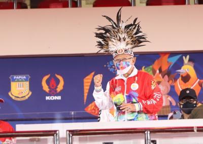 Wapres Maruf Amin Resmi Tutup Gelaran PON XX Papua 2021