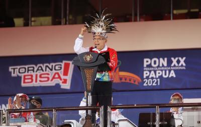 PON XX Papua 2021 Berakhir, Wapres Maruf Amin: Ini PON Tersulit Sepanjang Sejarah, tapi Torang Bisa