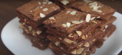 Resep Kue, Brownies Crispy Cocok untuk Akhir Pekan