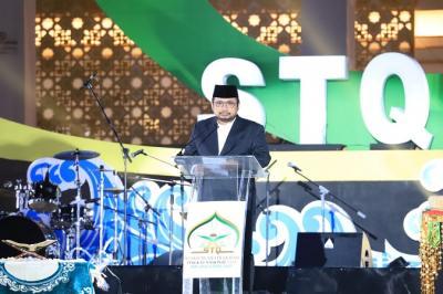Buka STQH Nasional Ke-26, Menag : Semoga Dapat Membumikan Spirit Islam