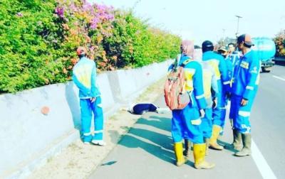 Berikut Identitas Mayat Wanita Bersimbah Darah di Tol Sedyatmo