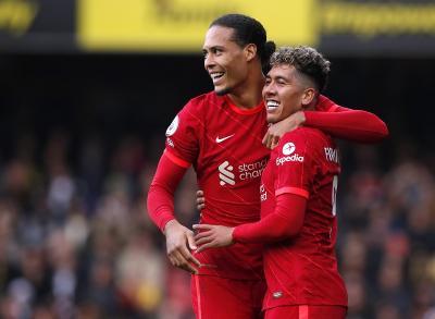 Hasil Watford vs Liverpool di Pekan Kedelapan Liga Inggris 2021-2022: Roberto Firmino <i>Hattrick</i>, <i>The Reds</i> Pesta Gol 5-0!