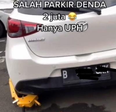 Viral Salah Parkir Mobil di Kampus Ini Didenda Rp2 Juta, Netizen: Setara UKT Gue 1 Semester