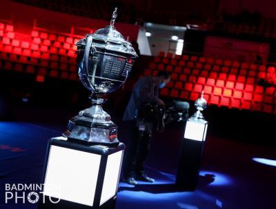 Shi Yuqi Cedera, Indonesia Diuntungkan saat Lawan China di Final Piala Thomas 2020?