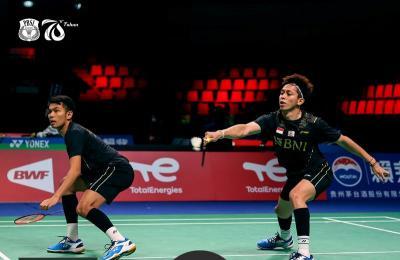 Hasil Final Piala Thomas 2020: Fajar Rian Libas Ganda Putra China, Indonesia Selangkah Lagi Jadi Juara