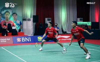 Sumbang Poin untuk Indonesia di Final Piala Thomas 2020, Fajar Rian: Ganda Putra Bukan Hanya Minions dan The Daddies!