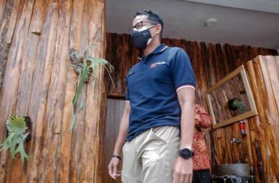 Resmikan Revitalisasi Toilet di Lembah Indah Malang, Sandiaga: Toilet Bersih Dukung Pengembangan Pariwisata